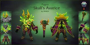 dota2 pugna the skull s avarice polycount