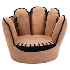 baseball gloves chair five fingers baseball glove shaped kids sofa sofas furniture kids sofa five finger