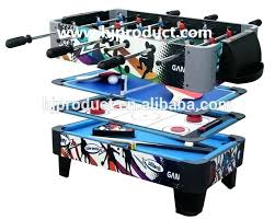 mini table top 3 in 1 multi air hockey mightymast revolver pool tennis