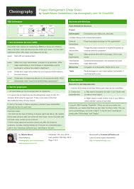 project management quick reference guide project management cheat sheet by nataliemoore download free from