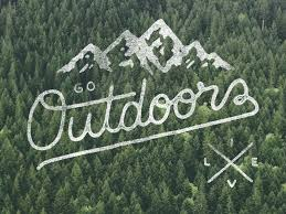 outdoors. Outdoors