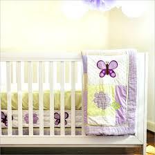 bedding cribs vintage baby boy striped comforter round purple erfly crib machine washable polyester lavender set