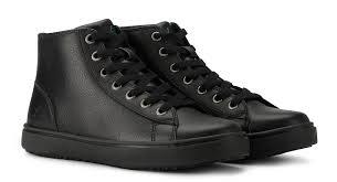 view women s read leather slip resistant work shoe