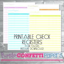 Check Register Template Printable Spreadsheet Templates Free Lytte Co