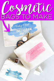 diy cosmetic bags with t shirt