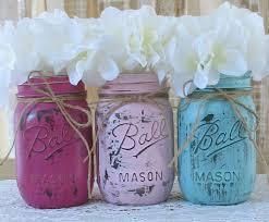 Decorating Mason Jars For Baby Shower SALE Set of 100 Pint Mason Jars Painted Mason Jars Baby 5