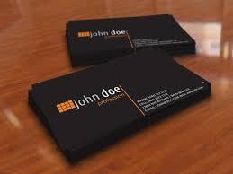 illustrator business card template simple black personal business card template free vector in adobe