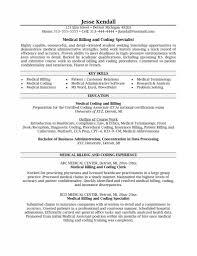 Medical Billing Clerk Job Description For Resume And Medical