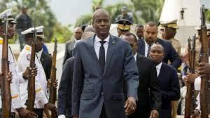 "Crowd in Haiti chants ""Joe Biden"" amid ..."