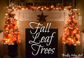 Diy Fall Decorations Easy Diy Fall Leaves Potted Topiary Tree From A Tomato Cage