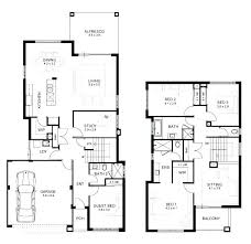 two story house design with floor plan luxury modern 4 bedroom plans crafty open double y