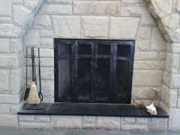 smlf contemporary brushed nickel fireplace doors modern forged decorating idea inexpensive furniture design glass