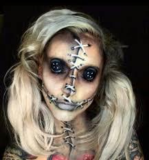 creepy doll makeup diy costume ideas for s
