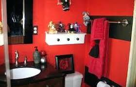 black white and red bathroom decor bathroom decoration medium size black white and red bathroom decorating