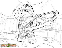 Small Picture LEGO Ninjago Skylor in Zukin Gi Coloring Page Printable Sheet