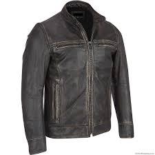 men s leather jacket