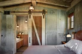 Corrugated Metal Interior Design Rustic Architectural Images Rustic Interior Design Photos