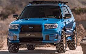This Oregon Shop Builds Awesome Lifted Subarus For Off Road Junkies The Drive Subaru Forester Subaru Forester Xt Subaru Wagon