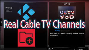 tv networks. kodi xbmc watch real cable tv channels - ustv networks (xbmcplus vod) streaming vod youtube tv