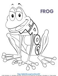 Print them all for free! Frog Coloring Page Kids Coloring Pages Pbs Kids For Parents