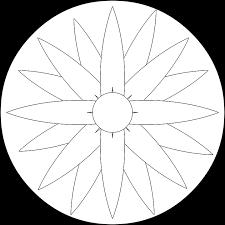 Mandala Fiore Disegni Da Colorare Immagini Gratis Su Pixabay
