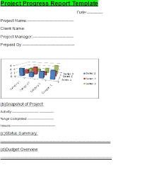 Project Progress Report Sample Project Progress Report Template Ppr Free Report Templates