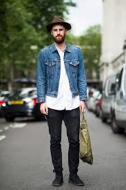 Reece Crisp Wears A Levis Jacket Uniqlo Shirt And Acne