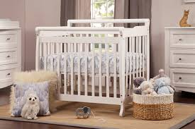All In One Crib Emily 2 In 1 Mini Crib And Twin Bed Davinci Baby