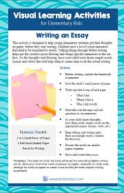 writing for kids   visual learning   homework help  as kids get older they begin to write longer pieces of writing like essays and stories