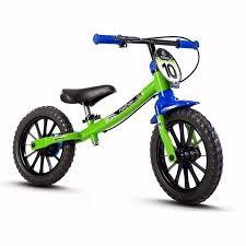 Bicicleta Balance Pre Bike Infantil Sem Pedal Nathor Menino R