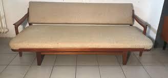 daybed sofa. Brilliant Daybed Vintage Teak Sofa U0026 Daybed By Arne Wahl Iversen For Komfort 1 Throughout