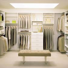 Bedroom:Furniture Cool White Master Bedroom Closet Design Idea With Brown  Lounge Chair Clothes Building