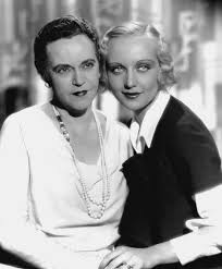 Carole Lombard and her mother Elizabeth 'Bessie' Peters.   Carole lombard,  Carole, Lombard