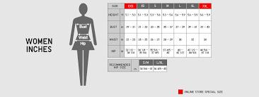 Uniqlo Womens Size Chart Www Bedowntowndaytona Com