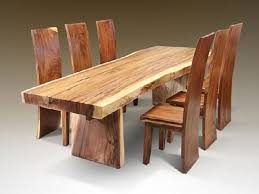 solid wood dining table. Wood Dining Room Sets With Wooden Furniture Solid Table