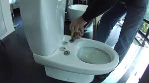 Taking Off And Adjusting A Cygnet Toilet Seat Youtube