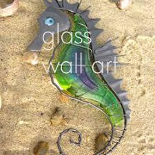 nautical themed glass art on metal wall art beach scenes with nautical wall art nautically themed wall art from dorset gifts