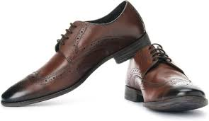 Clarks Chart Limit Genuine Leather Lace Up Shoes For Men