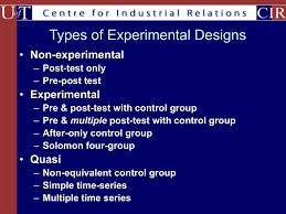 Experimental Vs Quasi Experimental Design Expt Design