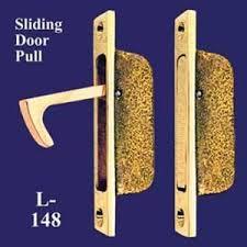 vintage pocket door hardware. brass vintage pocket door hidden pull (l-148) hardware i