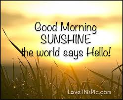 Good Morning Sun Quotes Best of Good Morning Sunshine Pictures Photos And Images For Facebook