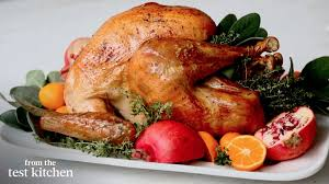 American Test Kitchen Turkey Roasted Turkey With Dry Brine Everyday Food From The Test