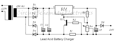 lead acid battery charger 24v circuit modern design of wiring battery charger lm317 circuit diagram rh saaqibs pot com 24 volt battery charger schematic 24 volt