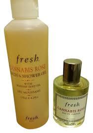 <b>Fresh Cannabis Rose</b> 1 Oz. Perfume & Shower Gel 4.3 Oz. Fragrance