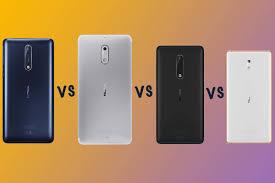 Nokia Comparison Chart Nokia 8 Vs Nokia 6 Vs Nokia 5 Vs Nokia 3 Whats The Difference