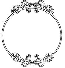 Circle Border Round Circle Border Frame Free Vector Borders To Download