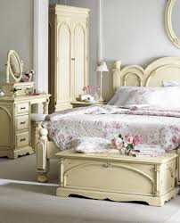 Shabby Chic Cream Bedroom Furniture All White Bedroom Set For A Up To Date Polished Chest Of Drawers