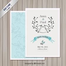 wedding invitation design templates wedding invitation card template vector free download