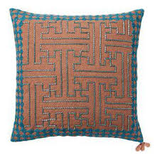 used west elm furniture. west elm copper beaded pillow cover used furniture