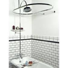 astounding free standing shower curtain rod free standing tub shower curtain rods freestanding bathtub shower curtain